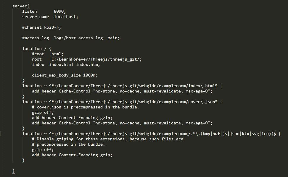 Bundled scene fails to load from nginx HTTP server - Shapespark