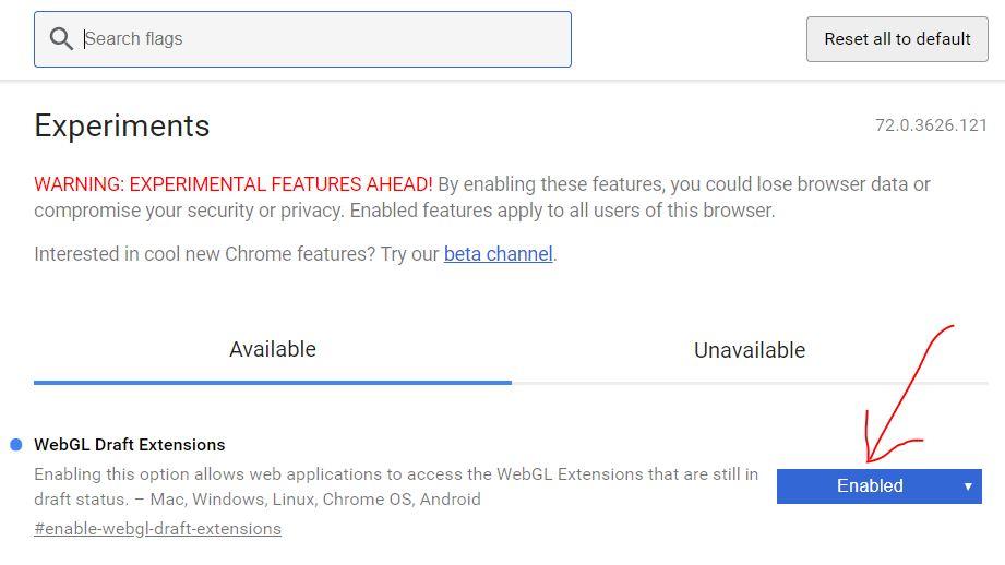 WebGL error message in Chrome! (Solved) - Shapespark Community